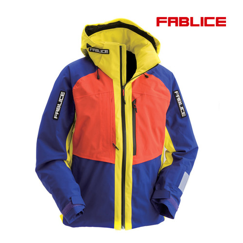[17/18파블리스]Freeride Jacket_Blue Yellow