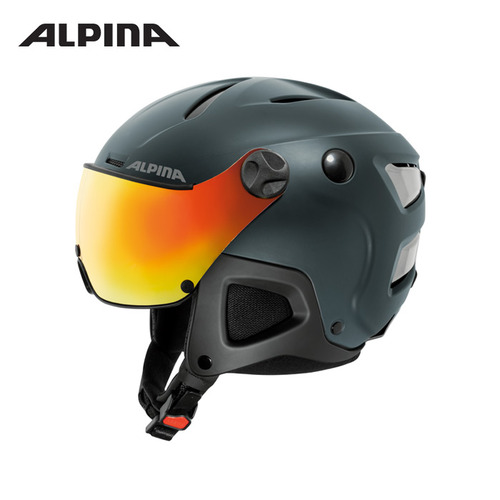 [알피나/ALPINA]17/18_ATTELAS Visor QVM_nightblue matt