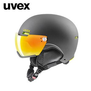 [UVEX우벡스]hlmt 500 visor/gun-lime mat/orange(S2)