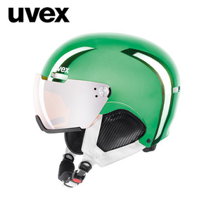 [UVEX우벡스]uvex hlmt 500 visor chrome LTD/green