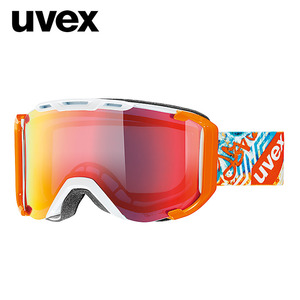 [UVEX우벡스]uvex snowstrike FM/white-orange
