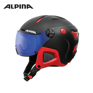 [알피나/ALPINA]17/18_ATTELAS Visor VHM_black-red matt