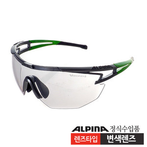 [ALPINA/알피나]EYE-5 SHIELD VL+(titan-green-black)