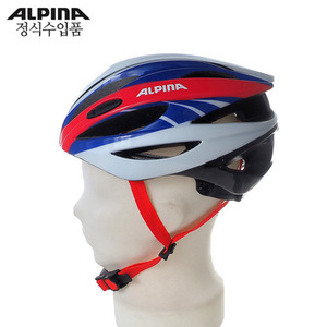 [ALPINA/알피나] CYBRIC (white-blue-red)